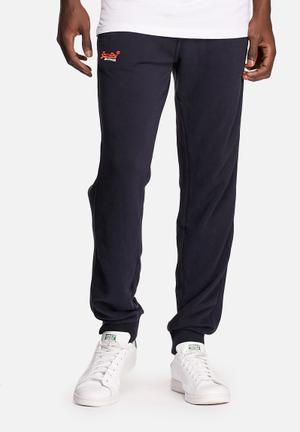 Superdry. Orange Label Lite Slim Jogger Sweatpants & Shorts Graphite Navy
