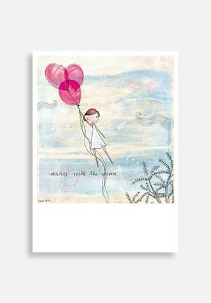 Sweet William Dance With The Wind Art