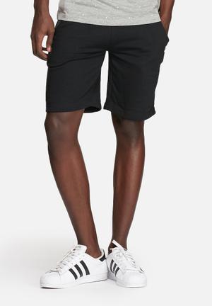 Jack & Jones CORE Run Shorts Black