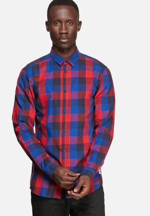 Jack & Jones CORE Gavin Slim Shirt Red