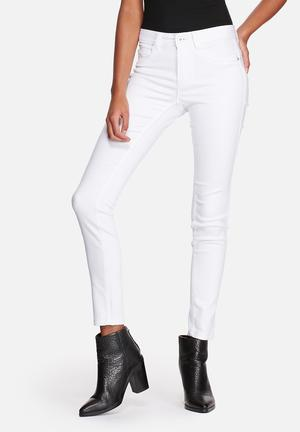 ONLY Ultimate Soft Regular Skinny Jeans White