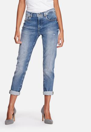 ONLY Gemma Jogg Boyfriend Jeans Light Blue Denim