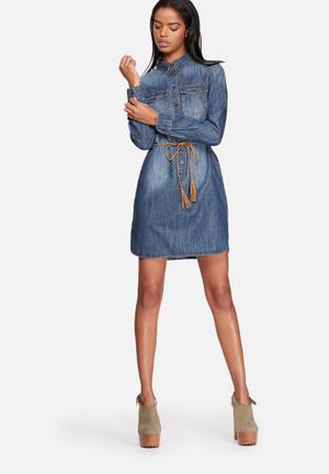 ONLY Henna Denim Dress Casual Medium Blue