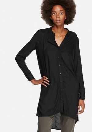 Vero Moda Filliz Long Shirt Black