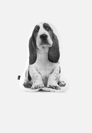 Ménagerie Fred Dog Cushion 100% Cotton