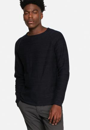 Jack & Jones Originals Ian Knit Knitwear Black