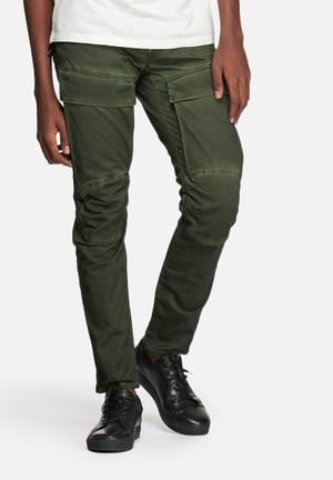 G-Star RAW Air Defence 5620 3D Slim Pants & Chinos Sage / Bright Rovic Green