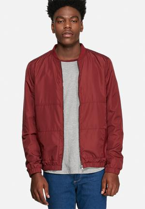 Only & Sons Lane Jacket Cabernet