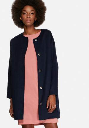 Selected Femme Elisa Coat Navy