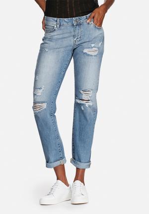 Noisy May Scarlet Regular Jeans Light Blue Denim