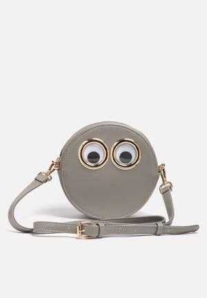 Nila Anthony Google Eyes Sling Bag Grey