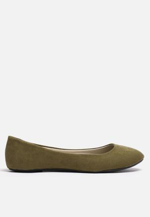 ONLY Ballerina Pumps & Flats Olive