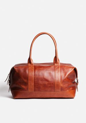 FSP Collection Leather Duffel Bags & Purses Conganc Hennasey