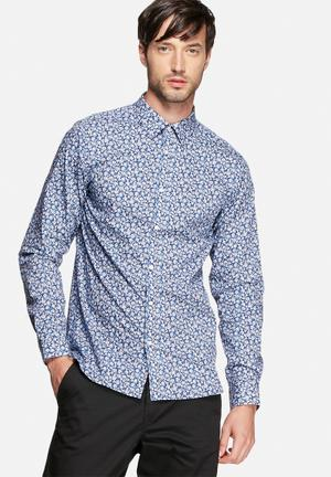 Jack & Jones Premium Hogun Slim Shirt  Blue
