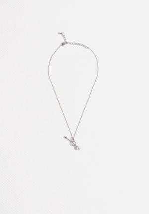 Vero Moda Pearly Necklace Jewellery Silver