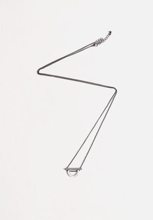 Vero Moda Kia Long Necklace Jewellery Gun