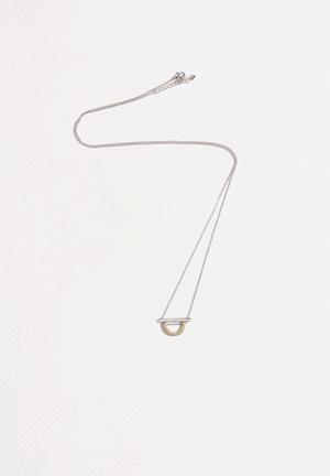 Vero Moda Kia Long Necklace Jewellery Silver