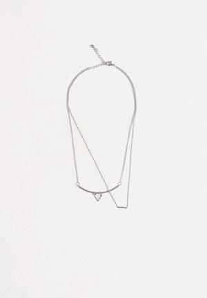 Vero Moda Dannie Necklace Jewellery Silver