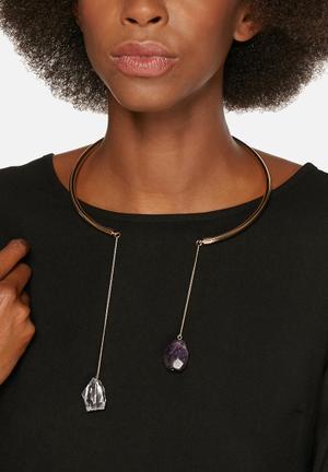 Vero Moda Karna Necklace Jewellery Pale Gold