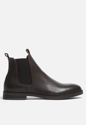 Selected Homme Marc Boot  Brown