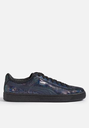 PUMA Basket Sneakers Black / Multi