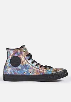 Converse Chuck Taylor All Star Hi Sneakers Black Iridescent