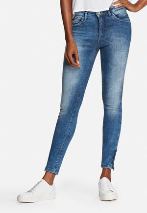ONLY Kendall Ankle Jeans Light Blue Denim