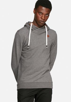 Only & Sons Jonas Hoodie Hoodies & Sweatshirts Dark Grey Melange