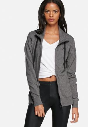 ONLY Play Play Lina High Neck Sweat Hoodies & Jackets  Dark Grey Melange