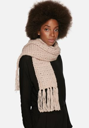 Range Betsy Scarf Pale Pink