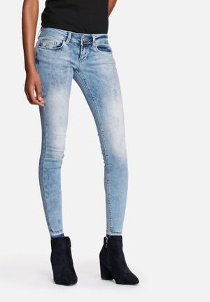 ONLY Coral Ankle Jeans Medium Blue Denim
