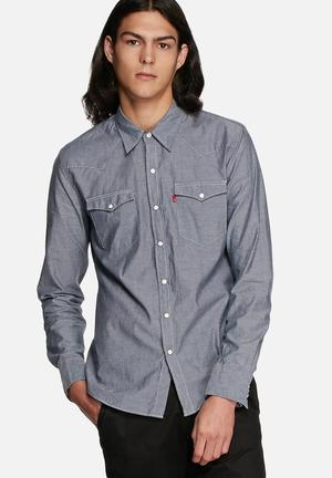Levi's® Western Slim Shirt Blue