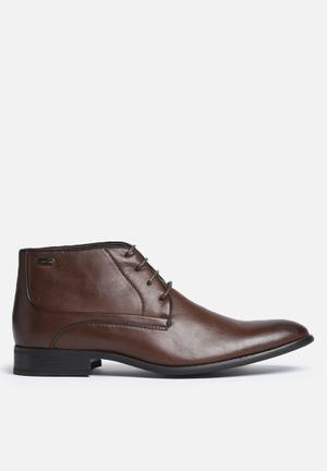 Gino Paoli Lace-up Boot Brown