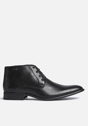 Gino Paoli Lace-Up Boot Black
