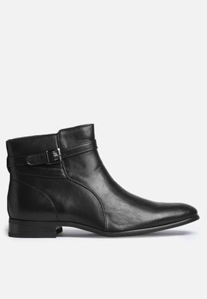 Gino Paoli Buckle Boot Black