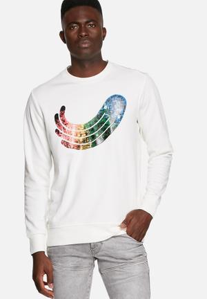 G-Star RAW Occotis Art Sweater Hoodies & Sweatshirts White