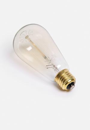 Nolden Bros Edison Bulb  Glass