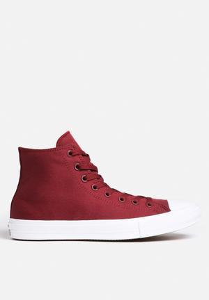 Converse Chuck Taylor All Star Hi II Sneakers Bordeaux