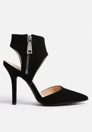 Qupid Mixi Heels Black