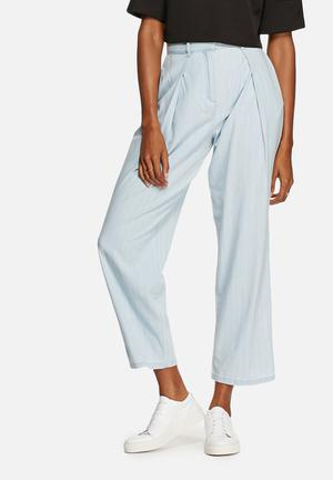 The Fifth Vantage Point Pants Trousers Light Blue