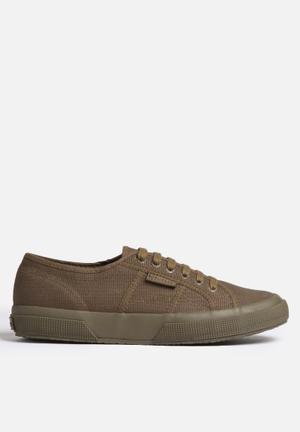 SUPERGA 2750 Cotu Classic Canvas Sneakers Khaki