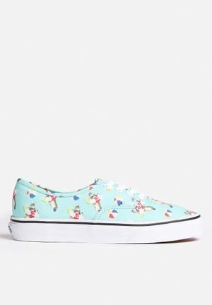 Vans Authentic Sneakers Aqua Sea / True White