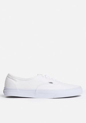 Vans Authentic Sneakers White / White