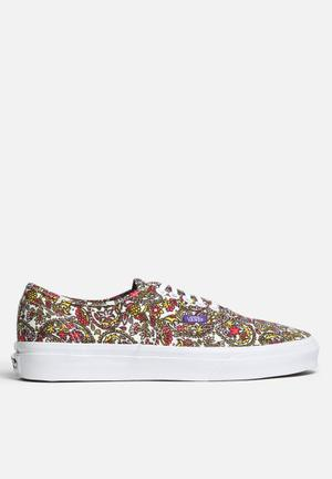 Vans Authentic Vans X Liberty Sneakers Paisley True White