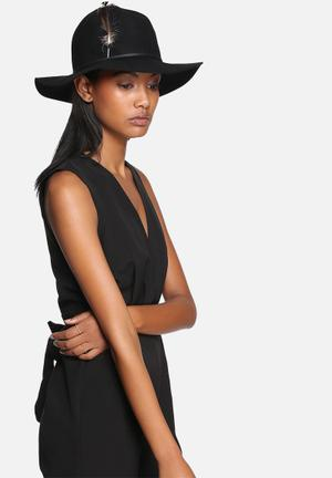 Brixton Judah Hat Headwear Black
