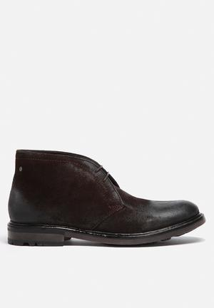 Base London Carbon Boots Brown
