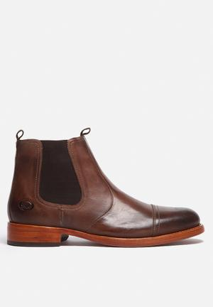 Base London Mersey Boots Brown