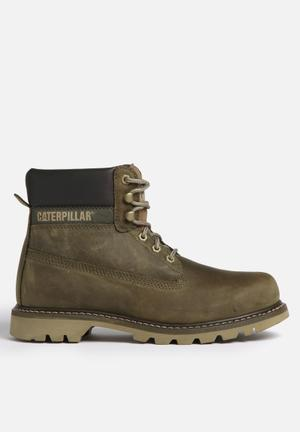 Caterpillar Colorado Boots Olive
