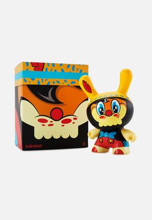 Kidrobot No Strings On Me Dunny By Wuz One Toys & LEGO Vinyl