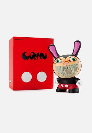 Kidrobot Grin Dunny 8-inch (blind Chase) By Ron English Toys & LEGO Vinyl